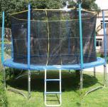 Netz und Leiter für Trampolin 360cm