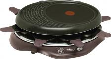 """TEFAL Raclette ,, Simply Invents 8 Cherry black"""" RE 5160 8er"""