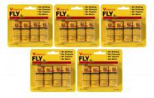 5 Pack Fliegenfänger Fliegenfalle Leimfalle Leimrolle Insektenfalle