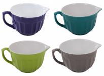 Keramik Rührschüssel Teigschüssel Servierschüssel Salatschüssel Backschüssel neu