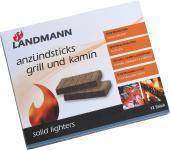 """GRILL-ANZUENDER Anzündsticks ,, Grill und Kamin"""" 0140 12er Riegel"""
