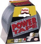"""PATTEX-POWER Klebeband ,, Power Tape"""" PT1DS Tape Silber 50/10"""