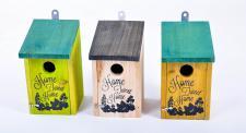 Vogel-Nisthöhle aus Holz