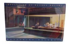 2x Metallschilder Wandschilder Kunstschild Dekoschild Dekoration Wandbild Retro