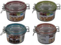 Drahtbügelglas 125 ml Einmachgläser Einweckglas Vorratsglas Marmeladengläser