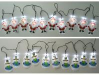 WH Solar LED Lichterkette diverse Design