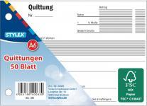 STY Quittungsblock 40083 Quittungen A6 50 Blatt