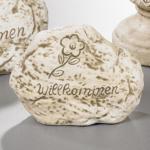 """KER-STEIN Stein ,, Willkommen"""" 4sort"""