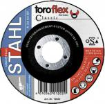Toroflex SCHRUPPSCHEIBE Schruppscheiben für Metall 12020 115x6