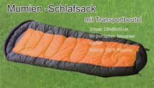 Schlafsack orange