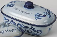 HERINGSTOPF 1670/30 30cmgrau Blau 1670-30