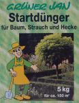 Grüner Jan Startdünger 5kg Volldünger Universaldünger Heckendünger Strauchdünger