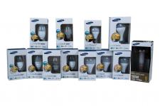 Samsung Led Lampen E14 Energiesparlampe E27 Leuchtmittel Kerze Strahler warmweiß