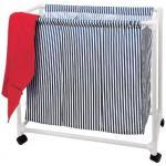 Wäschewagen 3 Fächer Wäschewagen Wäsche Aufbewahrung Wäschekorb Wäschesammler