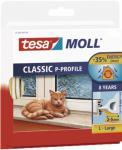 """Tesa Hohlprofilgummidichtung ,, tesamoll® Classic P-Profil"""" 5395-16 Moll Profil Gummi10m 5395 Weiss"""