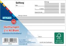 STY Quittungsblock 40084 Durchschr.