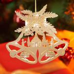 LED Weihnachtsglocke Weihnachtsdeko Glocke Fensterdeko Weihnachten Baumschmuck