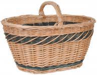 Autokorb Weide oval Einkaufskorb Weidenkorb Picknickkorb Korbwaren Korbgeflecht