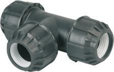 PVC-PE T-Stück 35569-E T-stueck 11/4 35569e