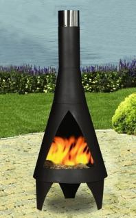 Feuerstelle Helios, Ofen, Grill, Kamin aus Eisen