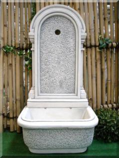 Wandbrunnen für Garten (Steinguss)