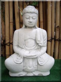 buddha f r garten tempel steinguss frostsicher kaufen bei steinfiguren horn. Black Bedroom Furniture Sets. Home Design Ideas