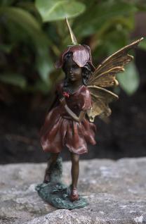 Bronzefiguren stehend Fee, Figur aus Bronze