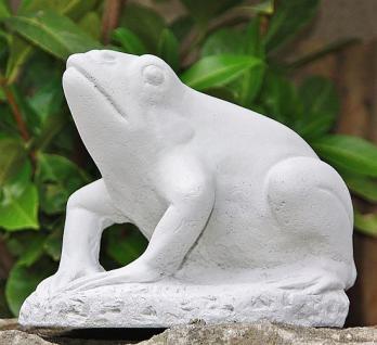 Frosch, aus Steinguss Frösche Lurch Lurche