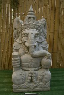 Steinfigur Ganesha, Figur aus Steinguss, sehr detailreich, bali, balinesisch, gottheit, hindu, hindugott