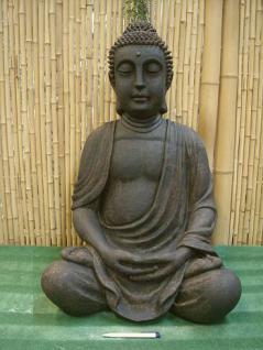 Steinfigur Buddha Figur Aus Steinguss Patiniert Kaufen