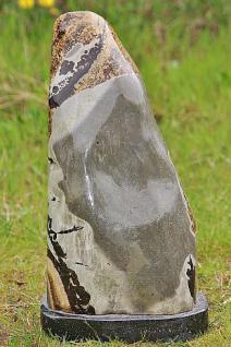 Steinfigur Dekostein, Naturstein, Unikat