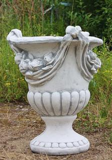 Steinfigur Amphore, aus Steinguss, 78cm hoch