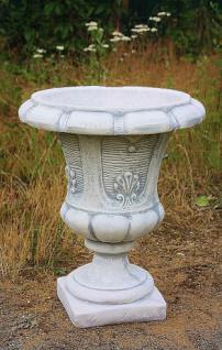Steinfigur Amphore, Pflanzgefäß aus Steinguss, Blumenkübel, Übertopf