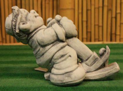 Steinfigur Zimmermann, Figur aus Steinguss