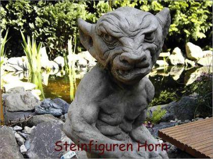 Steinfigur Gargoyle Gollum aus Steinguss
