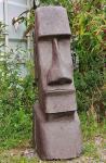 Steinfigur Osterinsel Kopf aus handgearbeitetem Lavastein