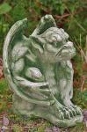 Steinfiguren Gargoyle, Figur aus Steinguss