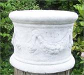 Steinfigur Sockel, Säule aus Steinguss Frostfest