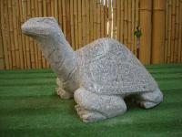 Steinfigur Schildkröte, Figur aus Granit