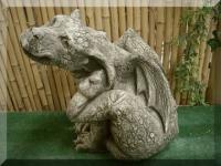 Steinfigur Drache Aiden von Pheeberts frostfest