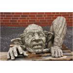 Steinfigur Troll Carlos/ Gnom für Garten & Terrasse