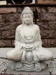 Steinfigur Buddha 93 cm aus Steinguss Frostfest !