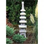 Steinfigur Pagode aus Granit