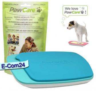 PawCare® Medium Container inkl. 185 Gramm in blau und 1x Refill 185 Set (Pfotenpflege) Paw Care
