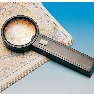 Leuchtlupe, 3-fach, 75 mm Durchmesser