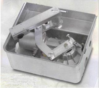 Unterflurantrieb SUB 350 für 2-flg. Tore bis 3,5 m