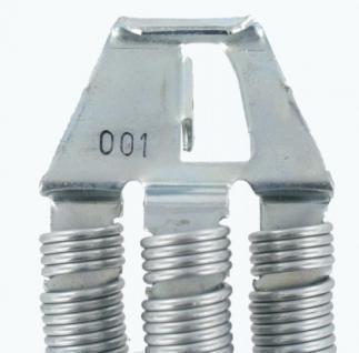 Torzugfeder für Schwingtore Federpaket Größe 001