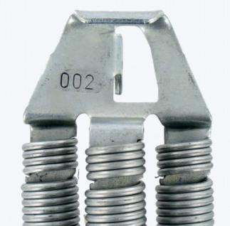 Torzugfeder für Schwingtore Federpaket Größe 002