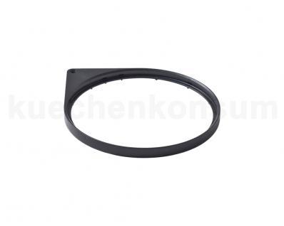 Hailo Mantelring oben schwarz für Mono 3512-03, 3515-03, Compact-Box 15