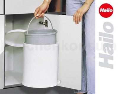 hailo abfallsammler mo swing 40 1 12 mono 12 l schwenkeimer einbau abfalleimer kaufen bei. Black Bedroom Furniture Sets. Home Design Ideas